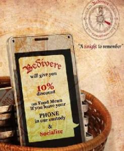 Restaurant Offers No-Phone Discount